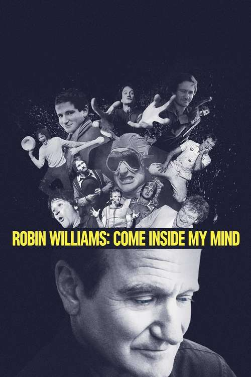 Poster for Robin Williams: Come Inside My Mind