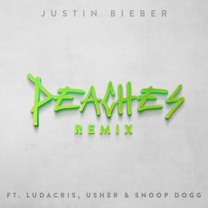 Album artwork for Peaches (Remix) feat. Ludacris, Usher & Snoop Dogg by Justin Bieber