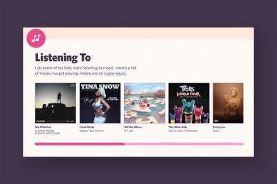 Featured Image for How I Made My Badass 'Listening To' Section