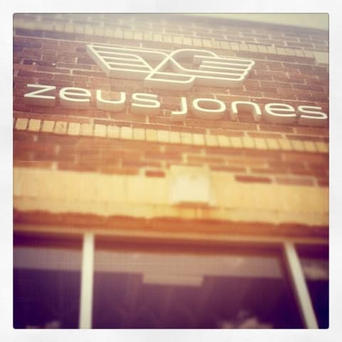 Exterior of Zeus Jones building