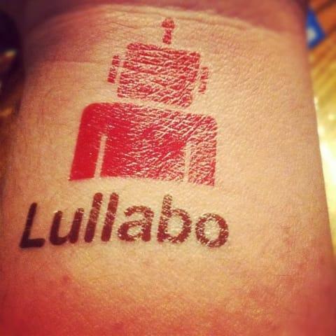 Lullabot temporary tattoo
