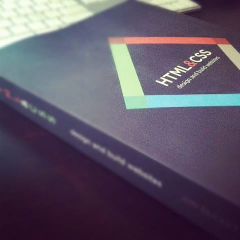 Cover for HTML and CSS book