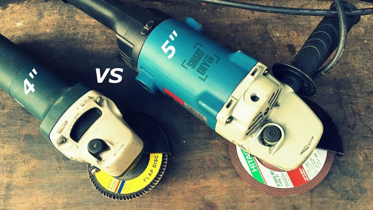 4 inch vs 4.5/ 5 inch Angle Grinders