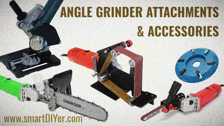 Angle Grinder Attachments and Accessories
