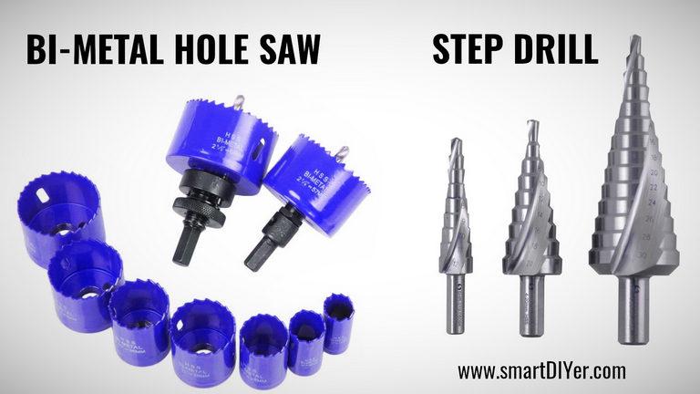 Metal Hole Saw, Step Drill Bit- Types of Drill Bit