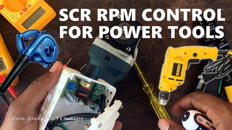 Speed Control for Power Tools