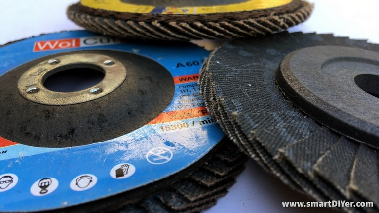 Angle Grinder Disc Types- Flap Disc, Finishing Disc, WolCut, 240 Grit