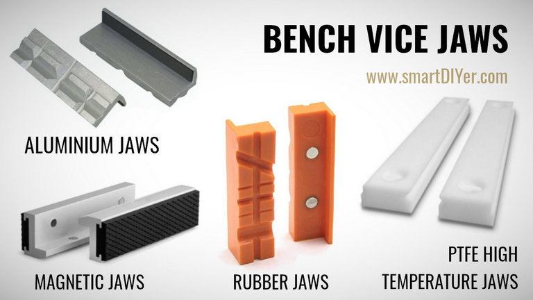 Bench Vice Jaw Types