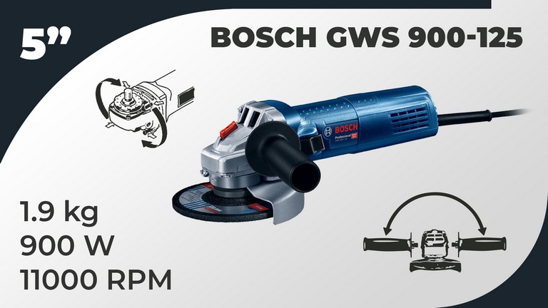 Best Angle Grinder Bosch 06013960F2 Specifications