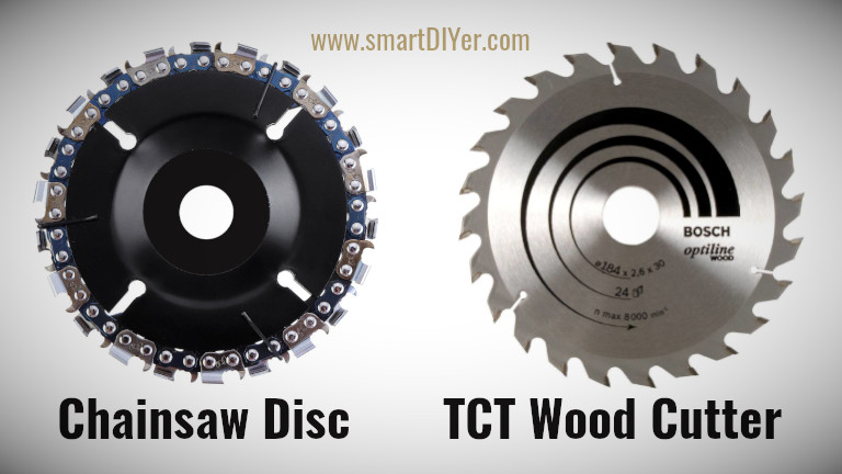 Wood Carving Disc 4-inch/100 Mm for Angle Grinder, Chainsaw Blade, Silver