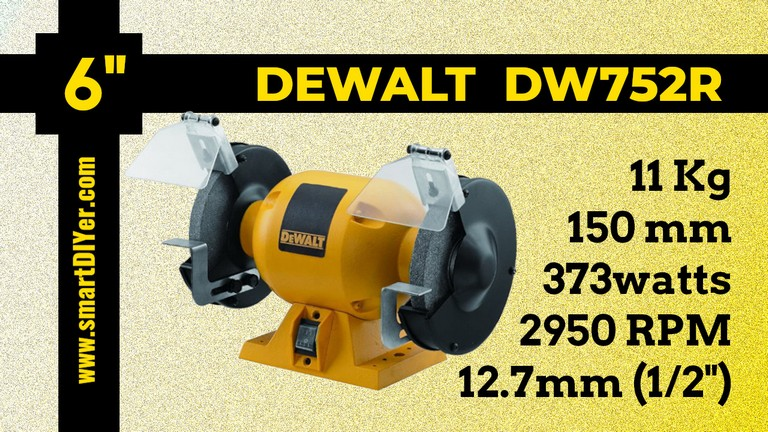Best Bench Grinder Dewalt DW752R Specifications Review
