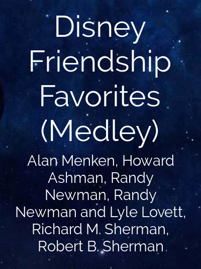 Disney Friendship Favorites (Medley)