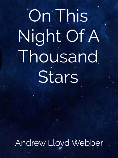 On This Night Of A Thousand Stars