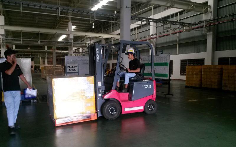 Butuh Forklift Nichiyu