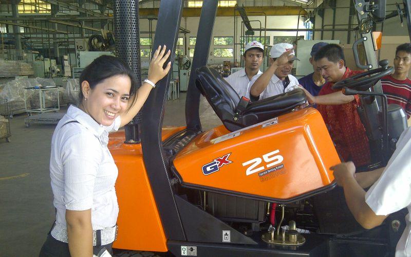 Doosan Forklift Surabaya 2018