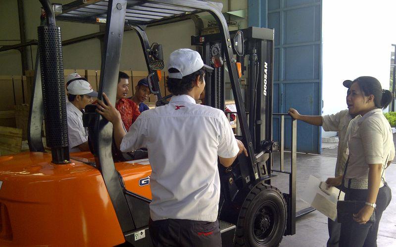 Doosan Forklift 7 Ton 2018