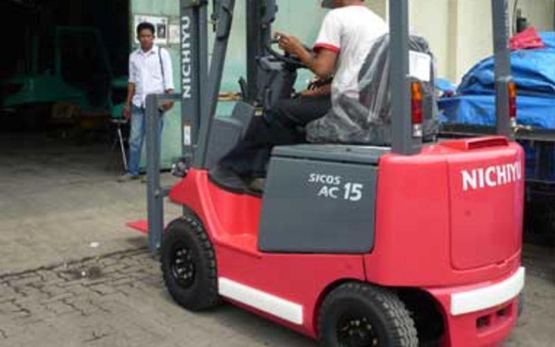 Jual Forklift Nichiyu