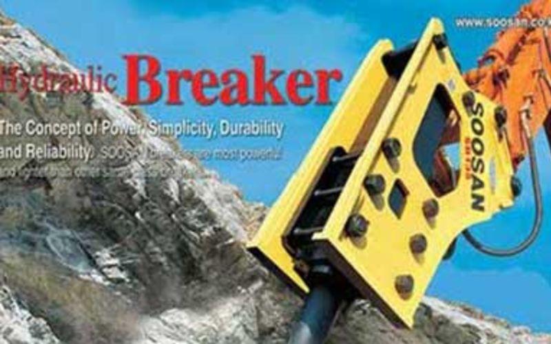 Jual Soosan Hydraulic Breaker