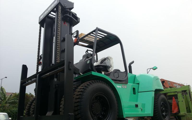 Mitsubishi Forklift 15 Ton 2018