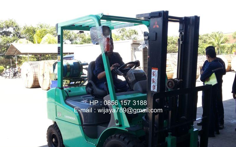 Mitsubishi Heavy Duty Forklift Indonesia