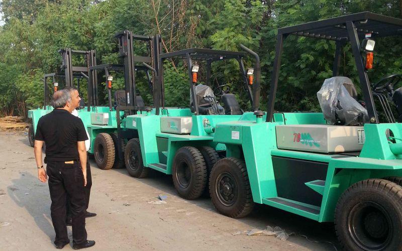 Mitsubishi Forklift for logistic material handling