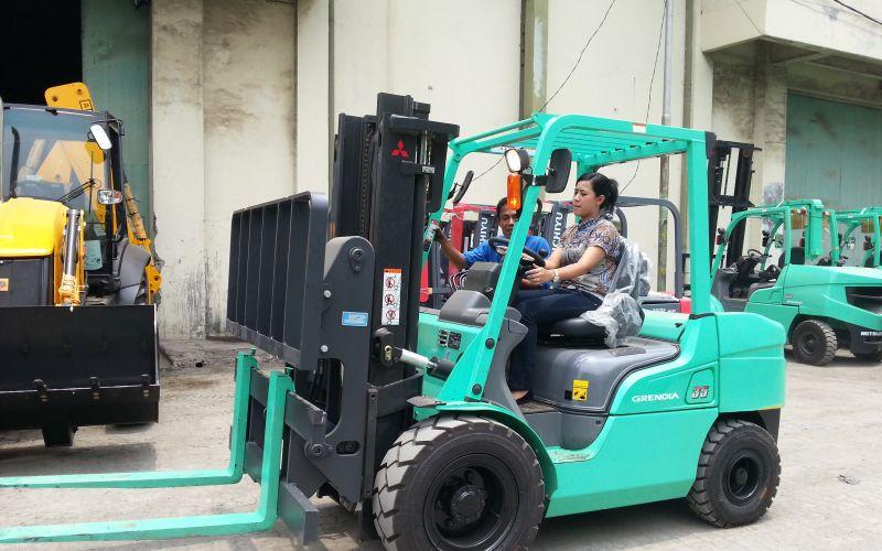 Mitsubishi Forklift for logistics solution 2018