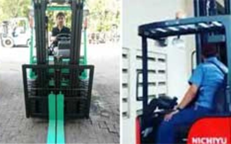 Nichiyu Forklift ready stock for food industrial 2018
