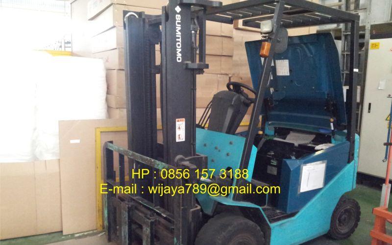 Provider Baterai Sumitomo Forklift Murah 2019