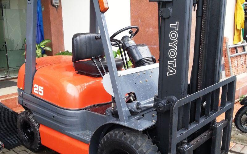 Toyota Forklift Jambi 2018