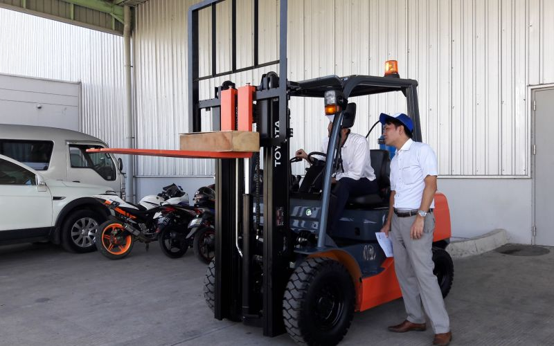 Toyota Forklift New Model