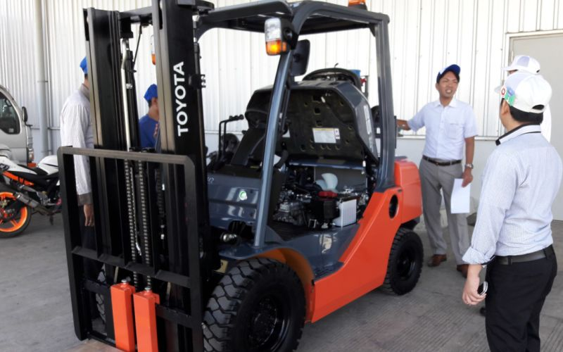 Toyota Forklift ready to use 2018