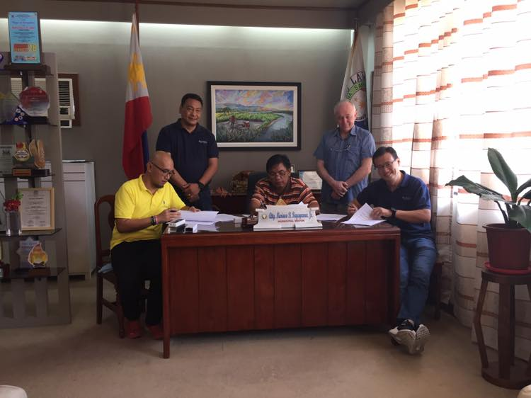 SNAP, Lamut LGU ink agreement for Ifugao hydro project