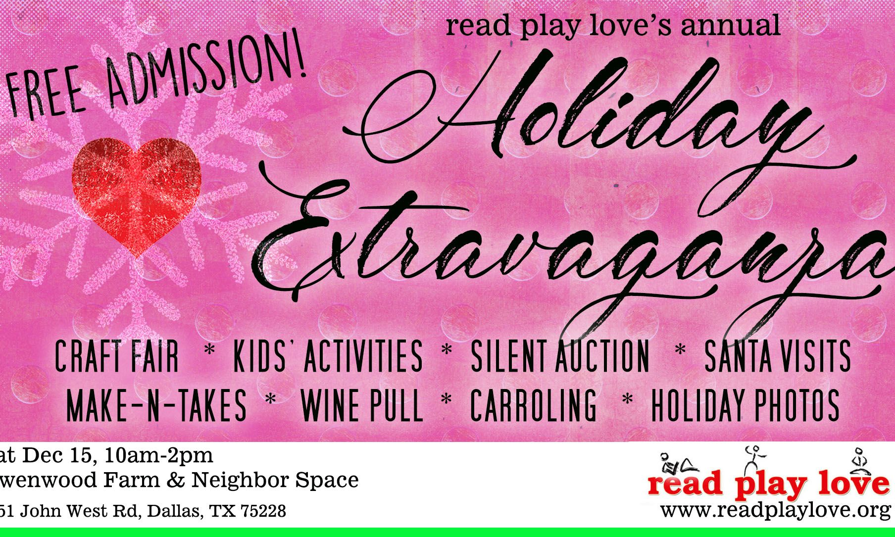 Read Play Love's Annual Holiday Extravaganza  Image