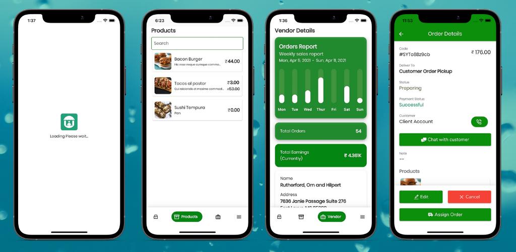 Fuodz - aplicativo de entrega de correio, comida, farmácia + back-end + aplicativo de driver e fornecedor - 4