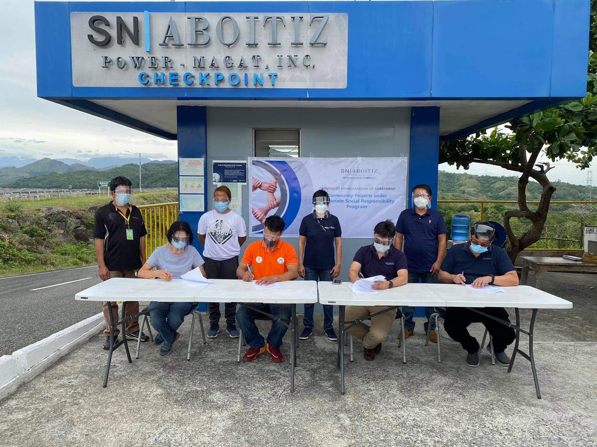SNAP-Magat, Barangay Sta. Lucia sign MOA for emergency vehicle