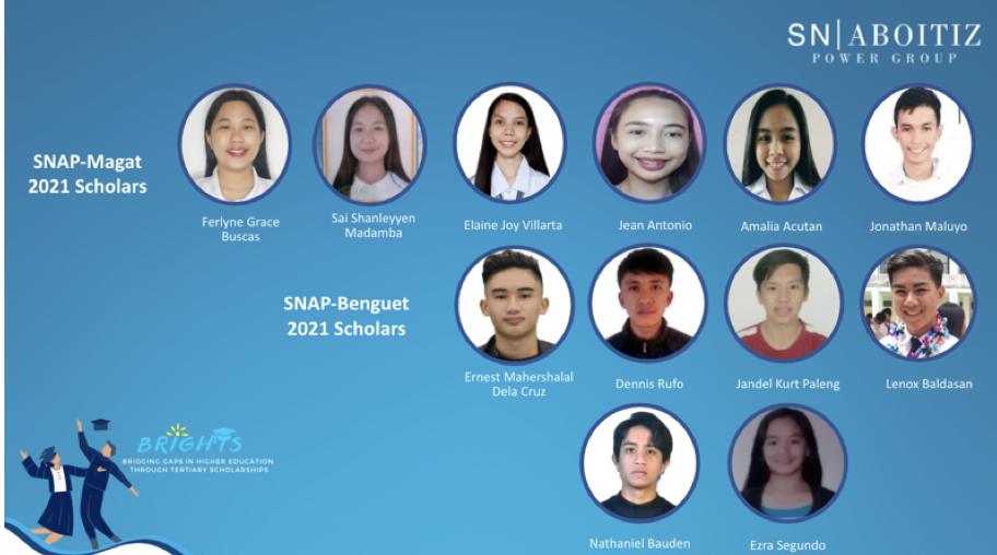SNAP welcomes twelve new college scholars