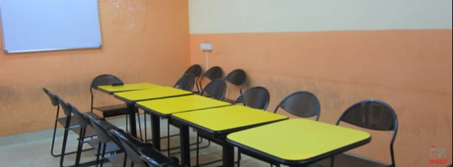 6 seaters Meeting Room Bangalore RT Nagar quickstep-training-centre