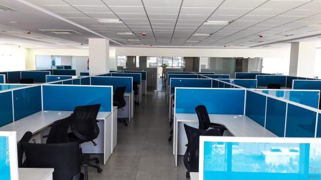 25 seaters Open Desk Hyderabad Hitech City autonetic-spaces