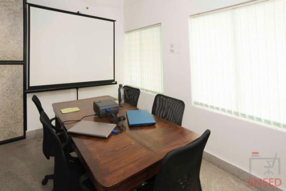 6 seaters Meeting Room Bangalore Sadashivanagar share-studio