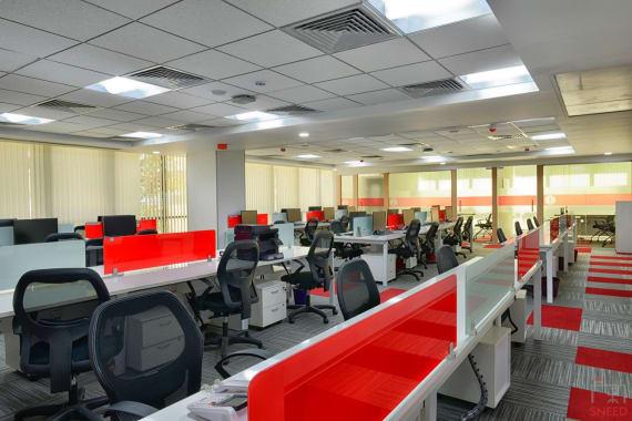 50 seaters Open Desk Bangalore Koramangala indiqube-sigma