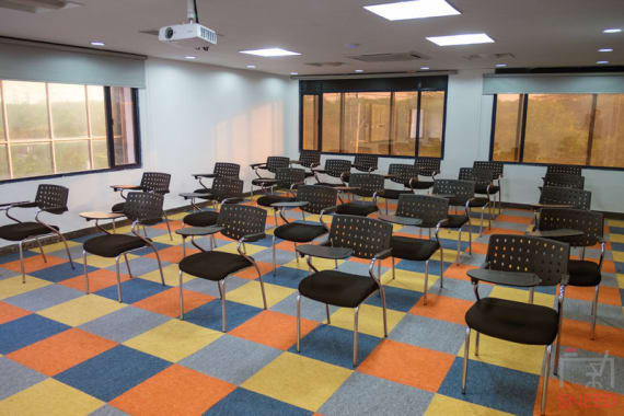 50 seaters Training Room New Delhi Okhla sproutbox-suryavilas