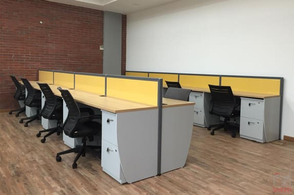 200 seaters Open Desk Gurgaon Sector 32 think-valley