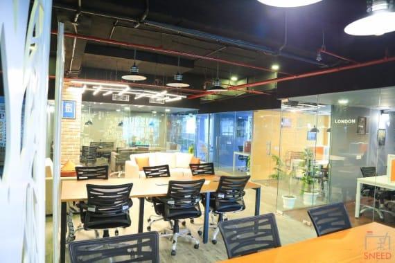 70 seaters Open Desk Gurgaon Udyog Vihar incuspaze---udyog-vihar