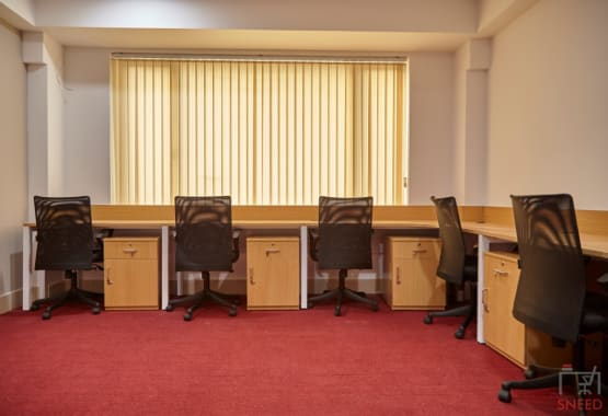 6 seaters Private Room Bangalore Whitefield woodstock-business-centre