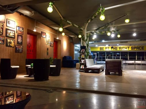 150 seaters Event Space Bangalore Residency Road bhive-workspace-residency-road