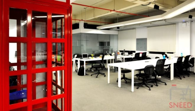 50 seaters Open Desk Gurgaon Sector 32 investopad-gurgaon