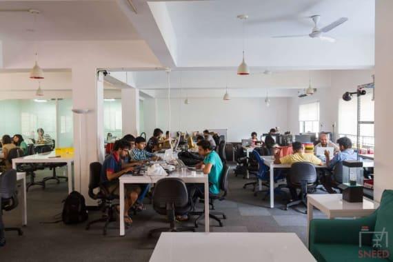 20 seaters Open Desk Bangalore Koramangala investopad-bangalore