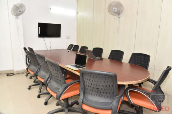 14 seaters Meeting Room New Delhi  mstoic-tech-park-