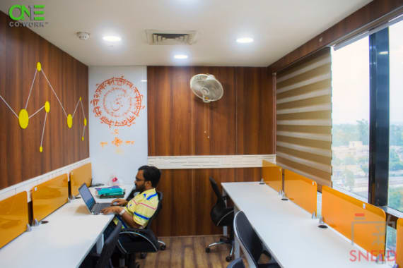 8 seaters Private Room New Delhi Pitampura one-co.work-pitampura