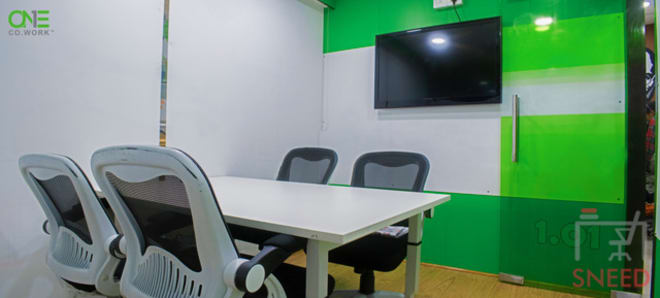 5 seaters Meeting Room New Delhi Pitampura one-co.work-pitampura
